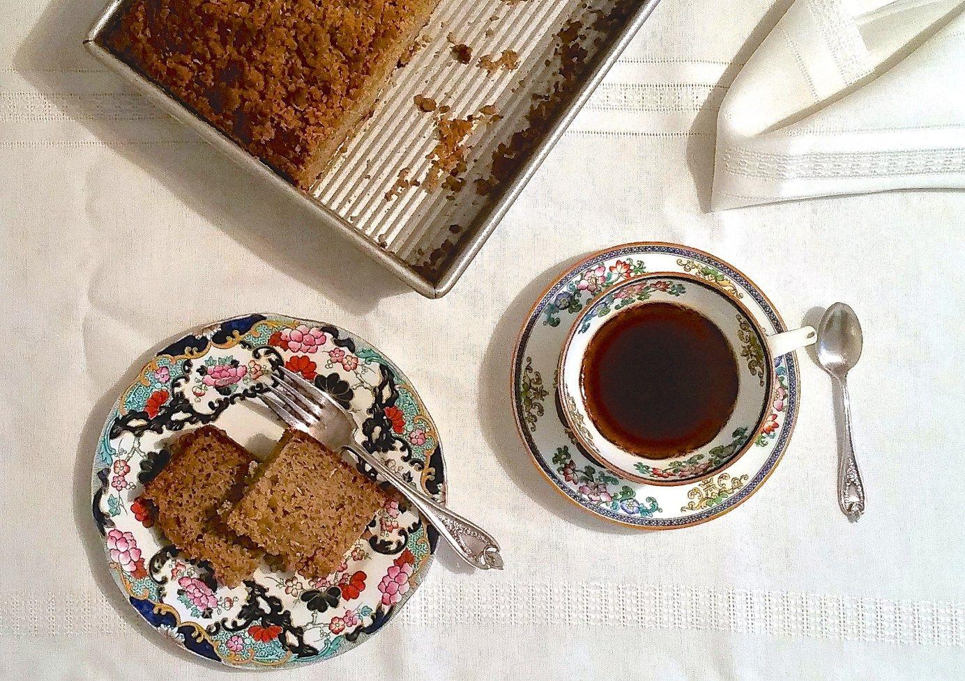 Coconut crumb topping recipe breakfast coffee cake