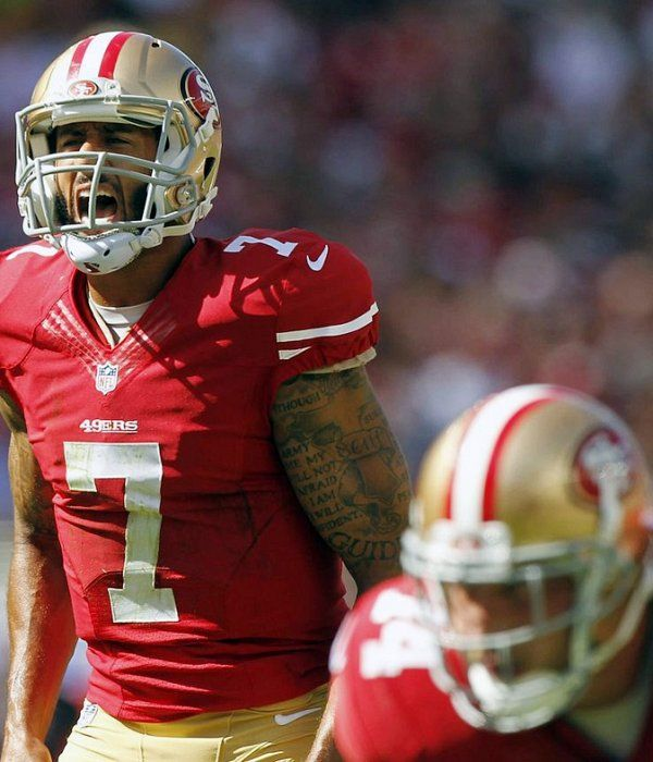 "Colin Kaepernick: ""I'm going to go out, show everything I can these next two games"""