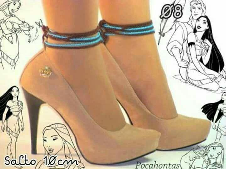 Pocahontas High heels