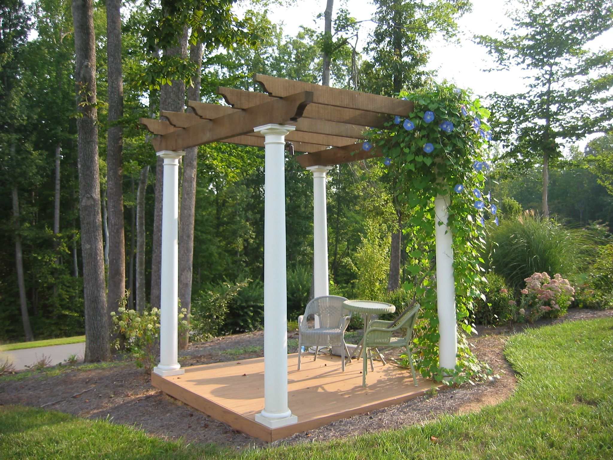 A Pergola Trellis Or Arbor Is A Great Place To Marry Pergola Deck With Pergola Pergola Canopy