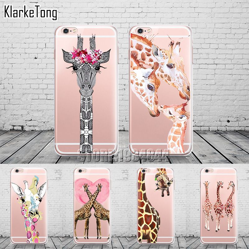 coque girafe iphone 6 plus