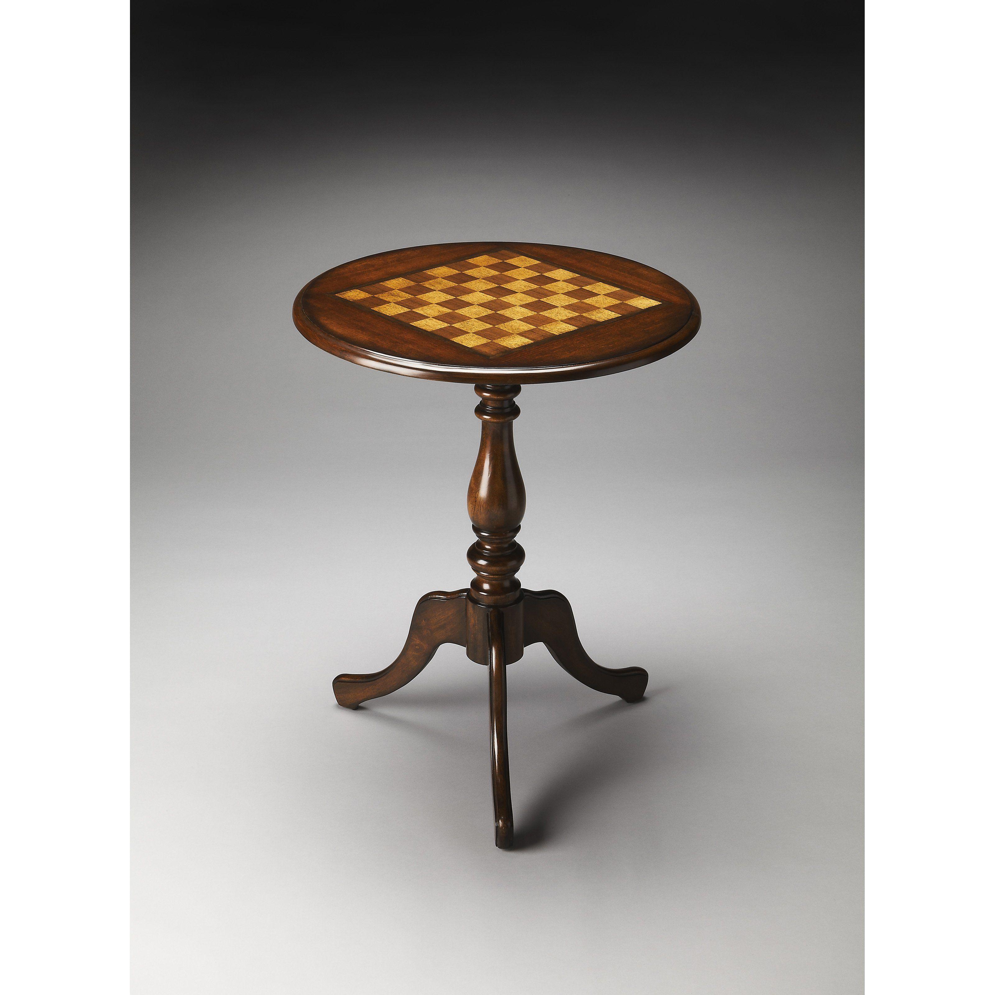Butler Specialty Chess Checker Table