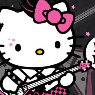 Rockstar Kitty Hello Kitty Hello Kitty Wallpaper Hello Kitty