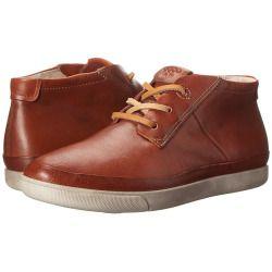 Womens Shoes ECCO Damara Tie Bootie Cognac