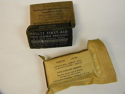 Us Gi Wwii First Aid Bandages In Original Carton • $4.95 • PicClick