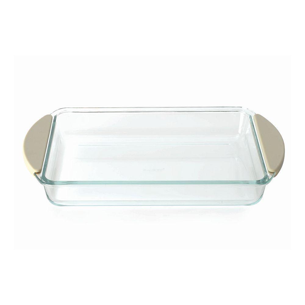 BergHOFF Studio Borosilicate Glass Baking Dish, Multicolor