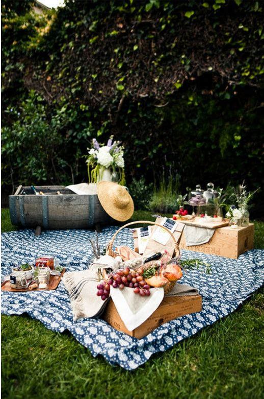 Take a warm summer's day, a secluded spot in the dappled shade, a blanket and a bottle of wine, friends and family, and a spread of delicious homemade food, and you have that timeless rustic idyll - the Great British picnic.