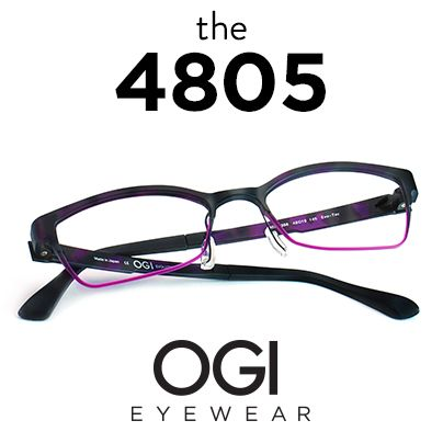 02f910be731 Ogi Eyewear 4805 in Purple Demi