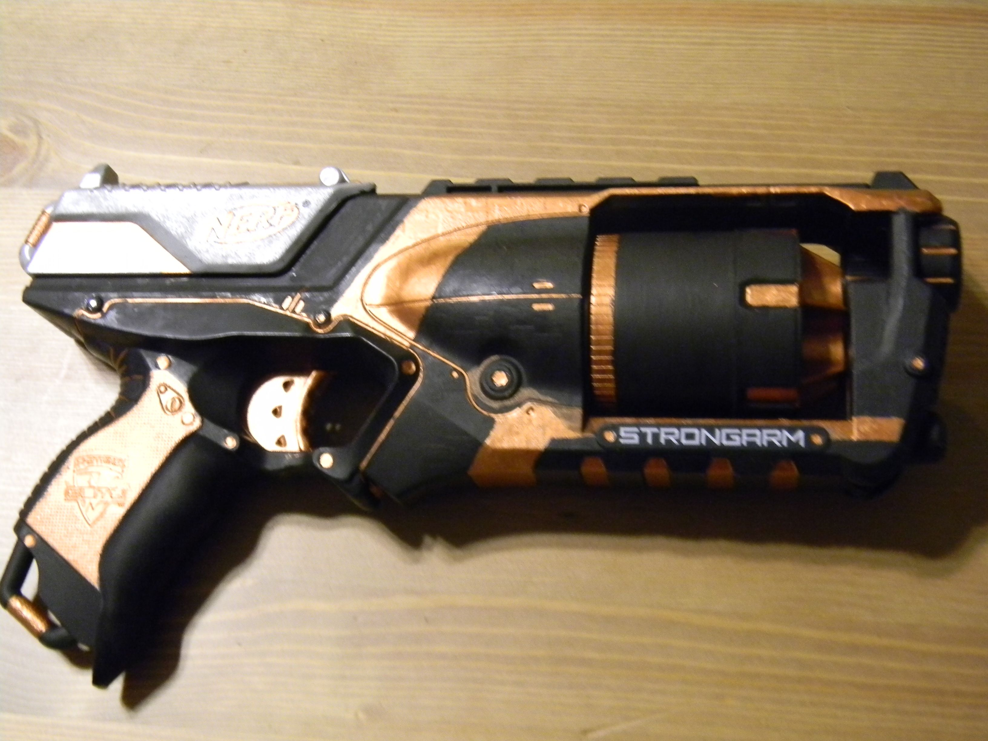Custom Nerf Strongarm