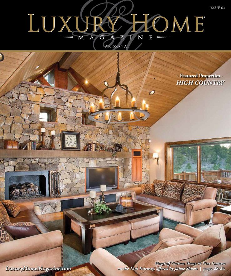 Design Your Own Luxury Home: LHM Arizona Issue 6.4 Cover Photography By: High Res Media