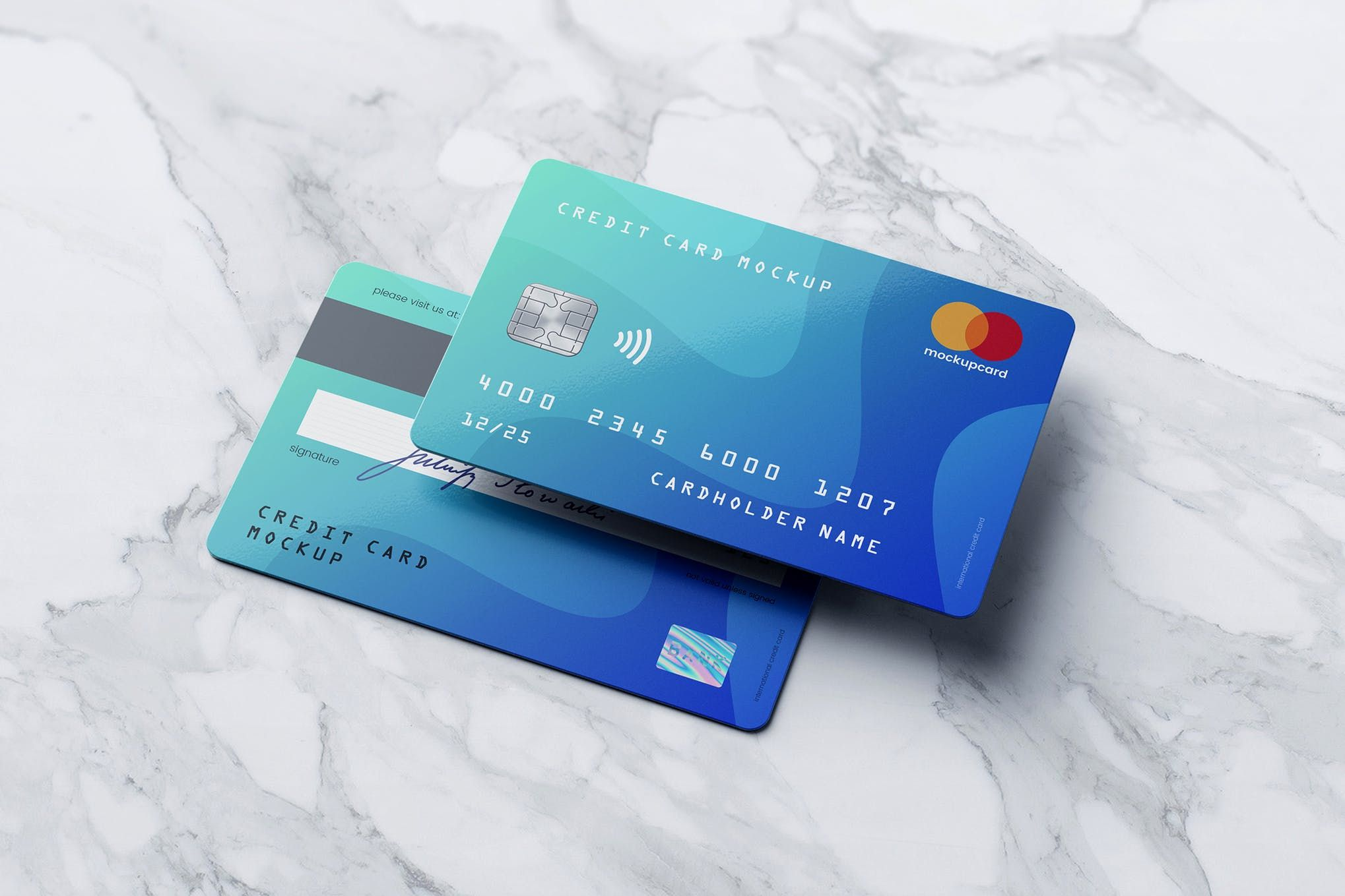 Credit Card Membership Card Mockup By Goner13 On