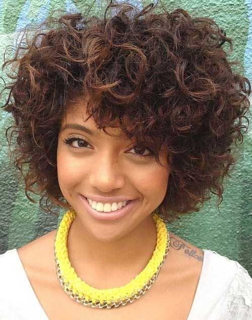 Short Curly Hairstyles 2015 20 curly short bob hairstyles bob hairstyles 2015 short hairstyles for women Cute Black Girl Short Curly Hairstyles 2015