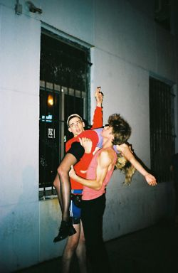 party hard and meet cute boys I remember thos days ;) no more like this picture lol
