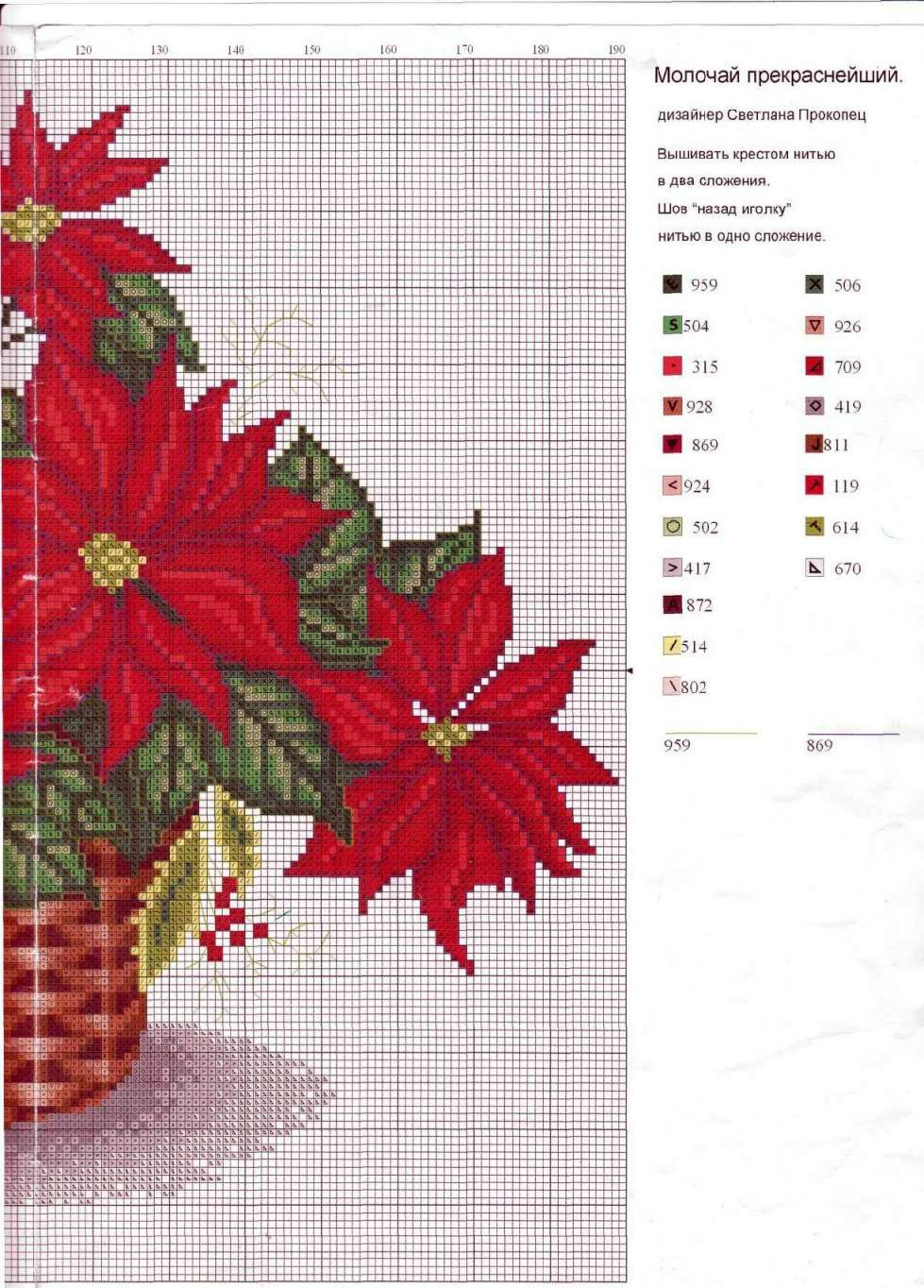 3 PART 2 | Navidad | Cross stitch flowers, Cross Stitch y Christmas ...