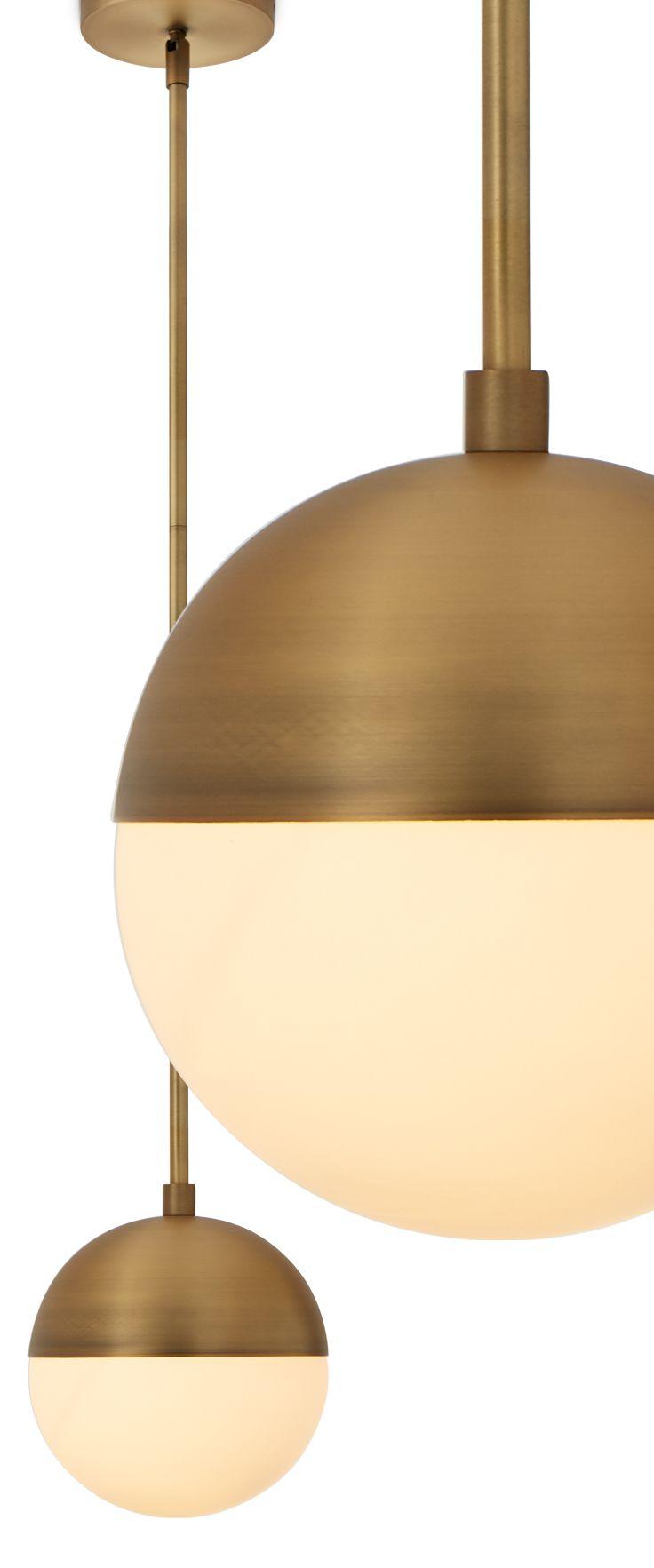 Powell pendant with hooded white globe bronze canopy mid powell pendant with hooded white globe bronze arubaitofo Images