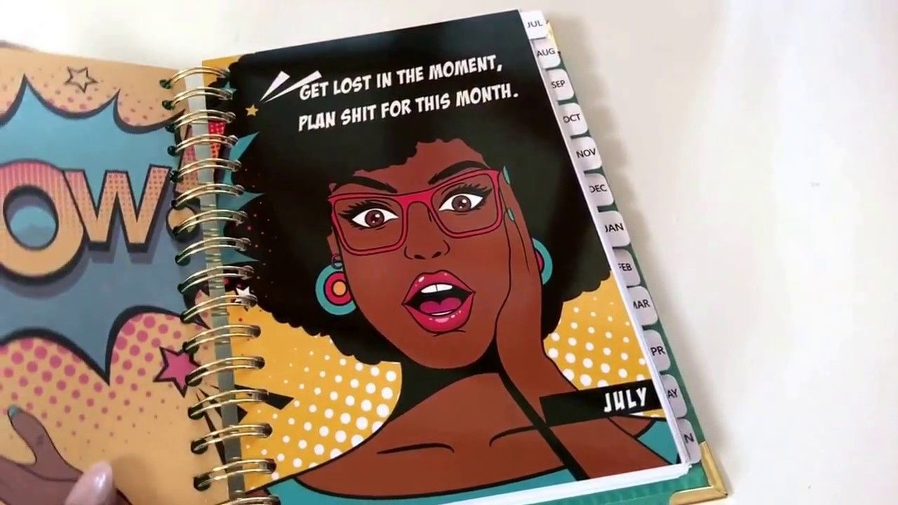 Get Sh*t Done Planner Flip Through Giveaway