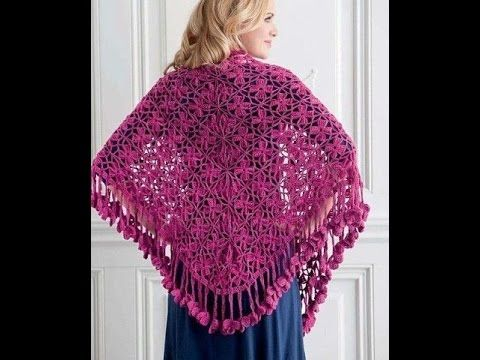 Crochet shawl| Free |Simplicity Patterns|141