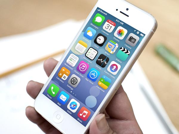 iOS  7 Springboard Redesign by Doney Den Ouden. iOS 7 Redesigns. #ios7 #apple #mobile #app #UI