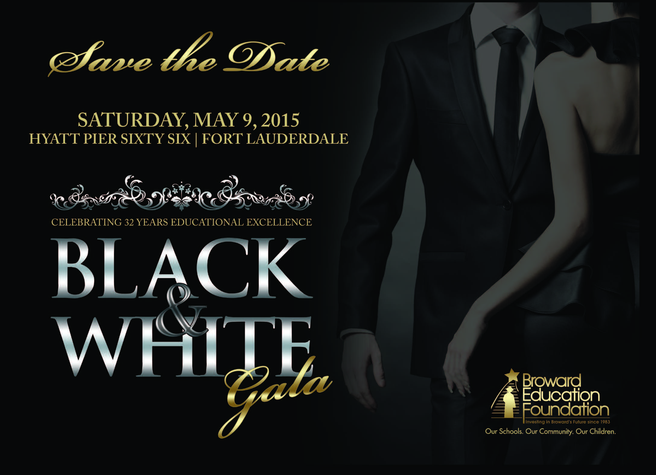 Celebrate The Night In Black White Education Foundation