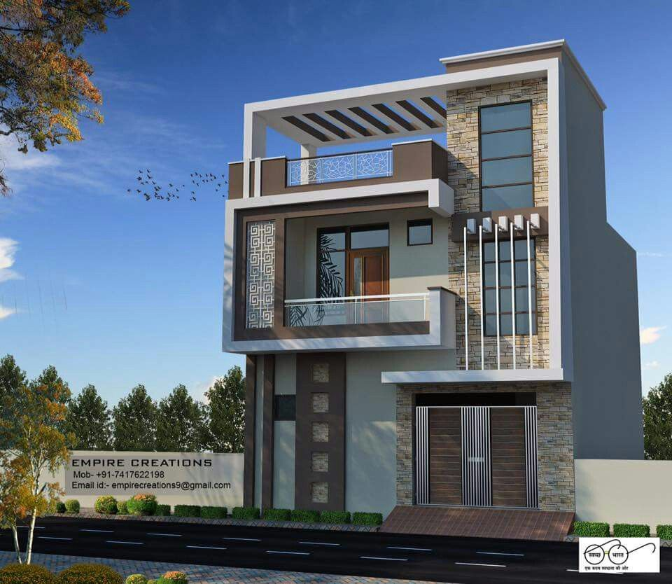 Modern Home Elevation Designs: Pin By Sl Pachpute On Elavation