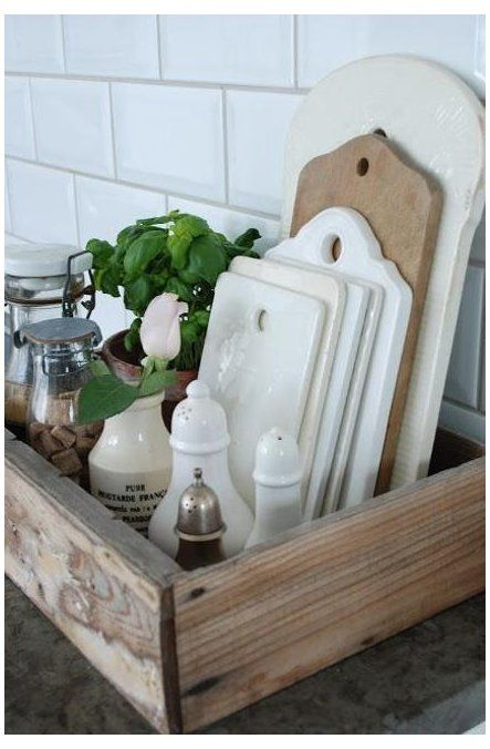 Photo of Blog Cabin 2012: Kitchen Pictures The rustic farm-style kitchen at Blog Cabin 20…