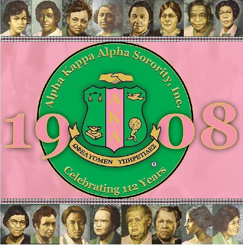 "XXΩ Chapter of AKA on Instagram: ""Happy Founders' Day! In 1908 the Founders of Alpha Kappa Alpha Sorority, Incorporated captured a vision fair, and 112 years later and over…"""