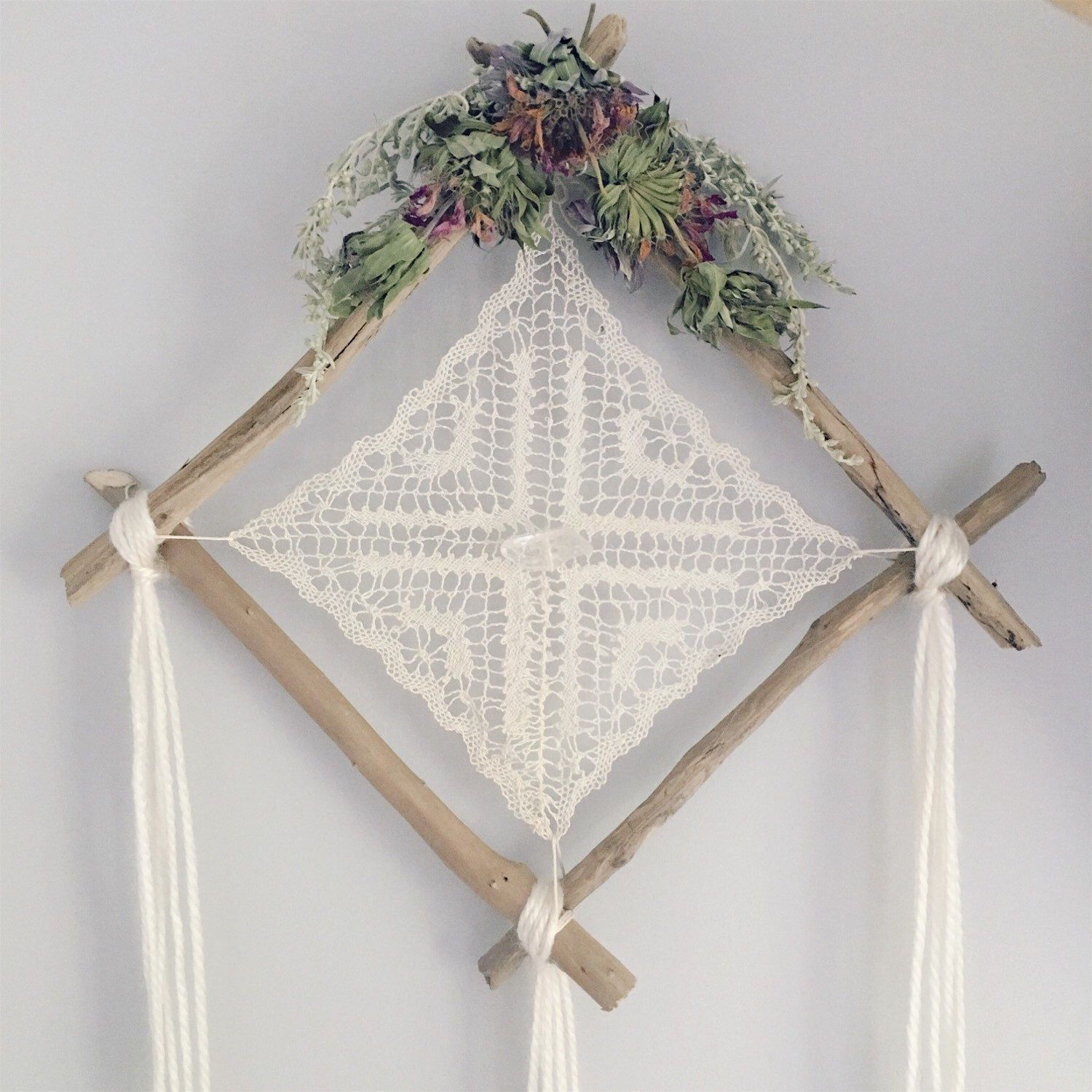 Pin by Laci Grush on TDL/DIY | Doily dream catchers, Dream ...