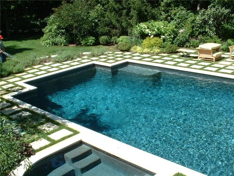 Geometric Rectangle With Attached Spa Aqua Pro Swimming Pool