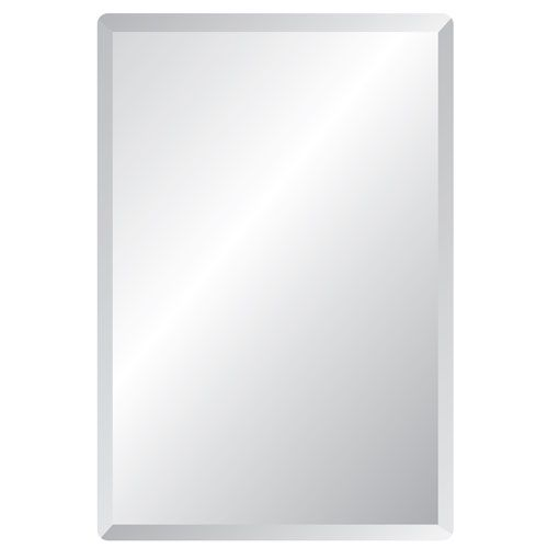 frameless mirrors for bathrooms. Regency 30 X 40 Rectangular Beveled Edge Mirror Spancraft Wall Bathroom Frameless Mirrors For Bathrooms S