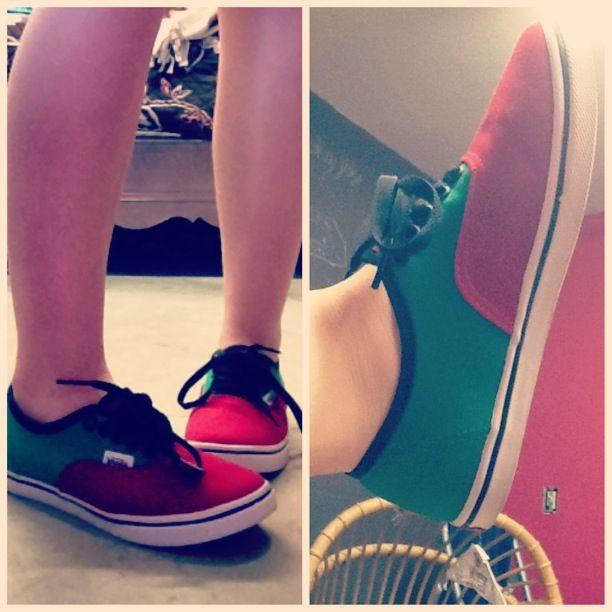 Vans off the wall!