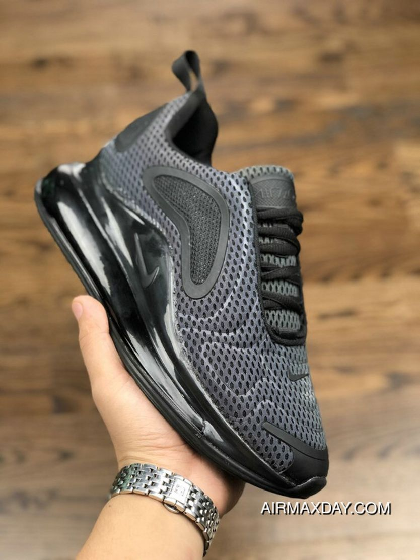 big sale 24f39 494ad Nike Air Max 720 2019 Gradient Color Black Original Mens Running Shoes  Online