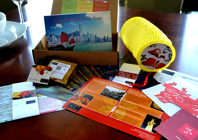 Kitchen Table Passport example food subscription box // WANT WANT WANT