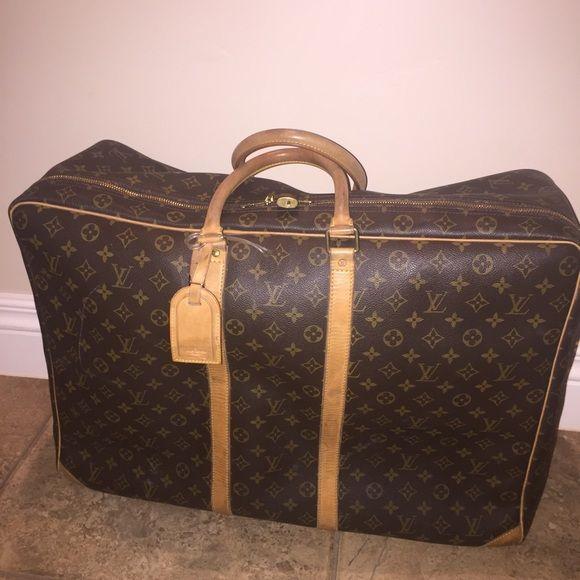 ec856aa7d78d Louis Vuitton SIRIUS 70 Soft Sided Suitcase. Louis Vuitton VINTAGE Monogram  Canvas SIRIUS 70 Soft