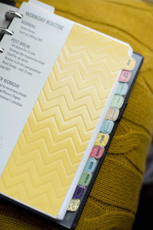 les 25 meilleures id es de la cat gorie binder tabs sur pinterest onglets planificateur. Black Bedroom Furniture Sets. Home Design Ideas