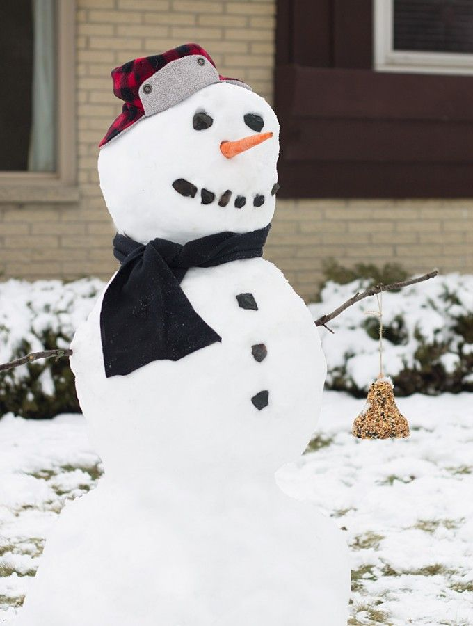 Nature-Snowman-for-Kids | Creative activities for kids ...