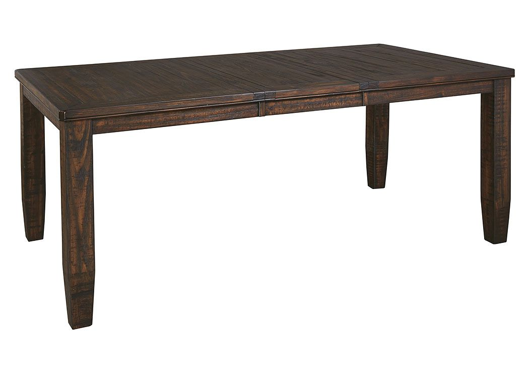 Alabama Furniture Market Trudell rectangular extension table For