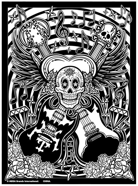 10_roseartguitarsfuzzynmarquez_v2.jpg (444×600) | COLORING PAGES ...