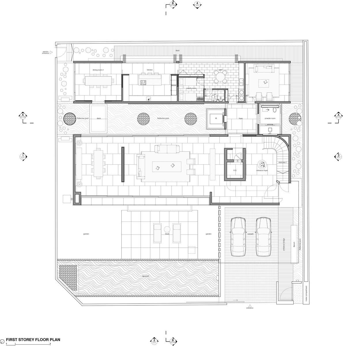 Pin de carlos corchado castillo en plantas pinterest for Arquitectura moderna planos