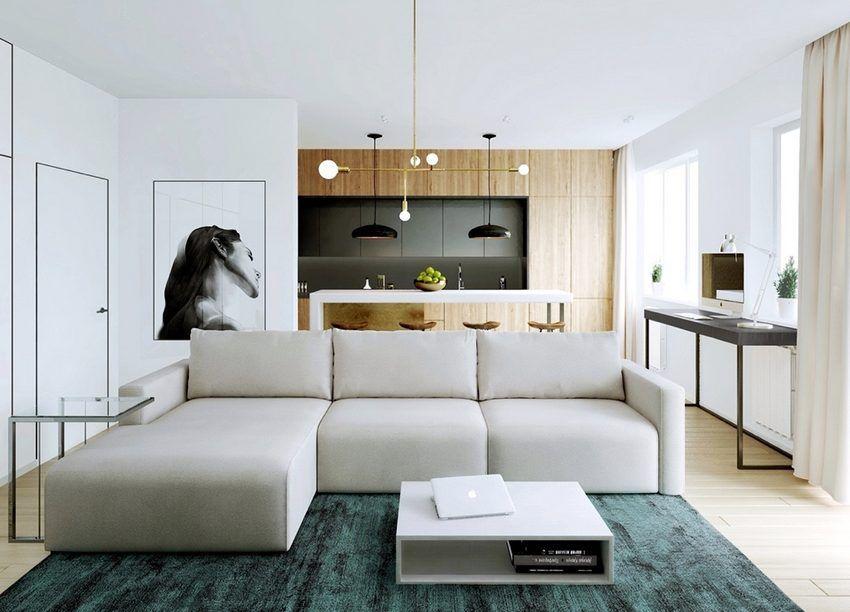 Harom Lakas Letisztult Szellos Berendezessel Semleges Termeszetes Szinpalettaval 46 78 85m2 Modern Apartment Design Future Apartment Decor Apartment Design