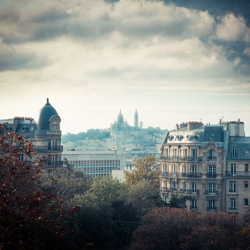 View from les Buttes Chaumont