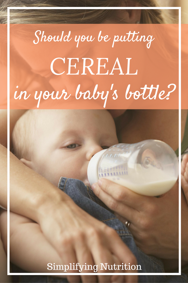 When Do I Start Feeding My Baby Solids?   Cereal in baby ...