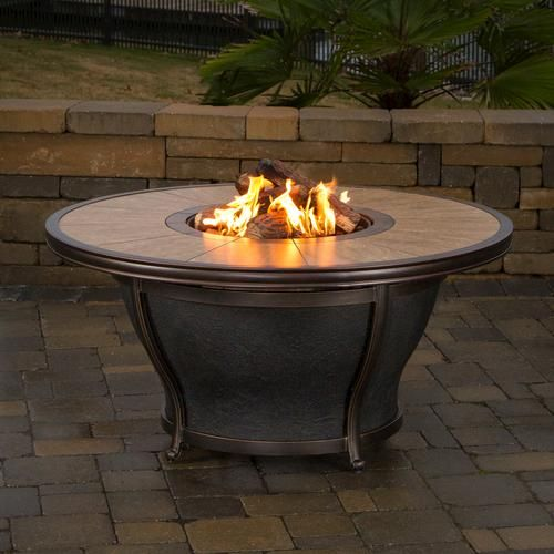 Shasta Fire Pit At Menards Fire Pit Outdoor Fire Pit Table Fire Pit Table