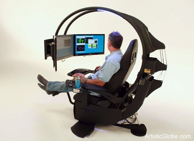 The Ultimate Computer Chair Computer Workstation Computer Chair Workstation