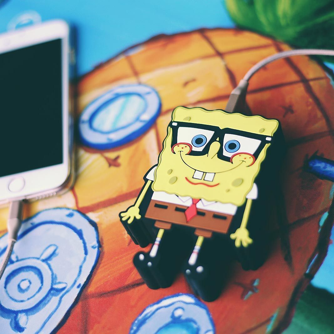 spongebob squarepants charger story nickelodeon collab power