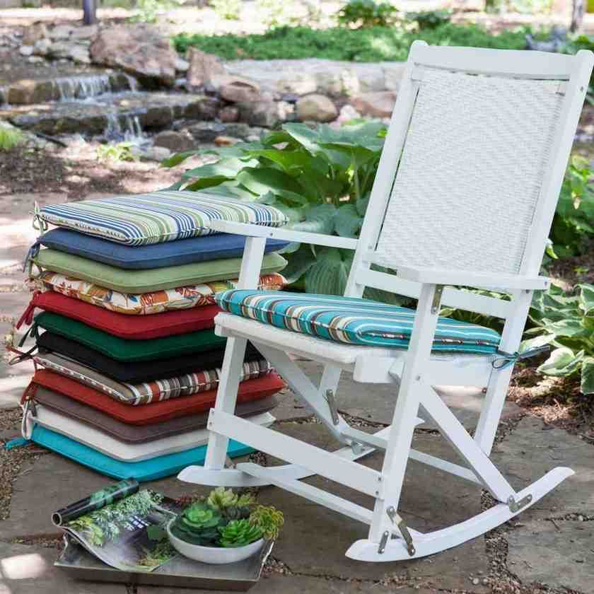 Seat Cushions For Patio Chairs Outdoor Rocking Chair Cushions