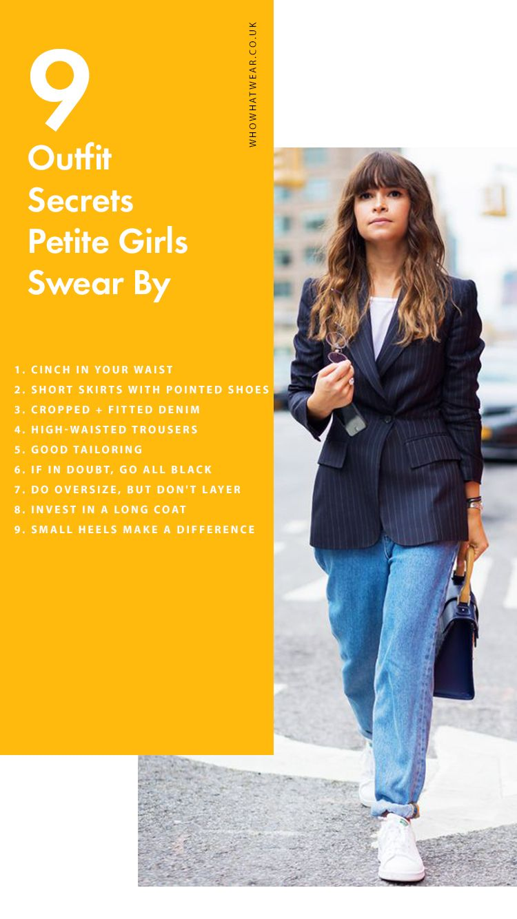 6aec7a2a6 How to Dress If You're Short: 9 Outfit Secrets Petite Girls Swear By and  Which Trends They Avoid