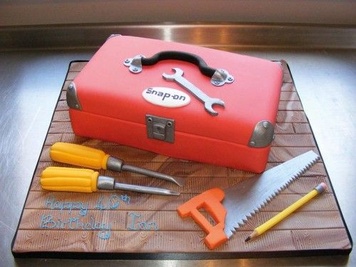 Handyman Cake Decorations