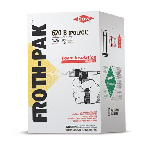 Froth Pak 620 B Polyol Class A Foam Insulation At Menards Foam Insulation Foam Spray Foam