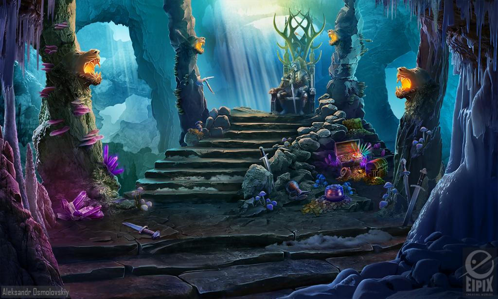 Dead king tomb - game scene by aleksandr-osm