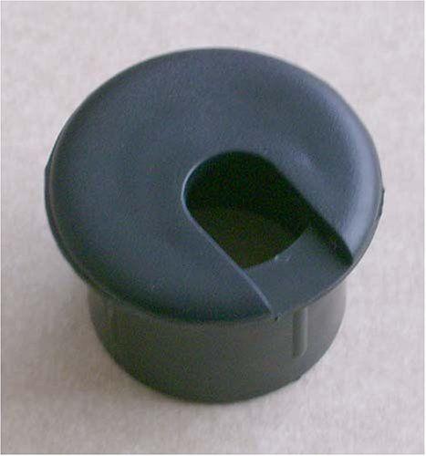 1 Black Desk Grommet 1 Pc By Bainbridge 3 60 1 Black Desk Grommet Fits In 1 Round Hole Home Hardware Black Desk Desk Grommet